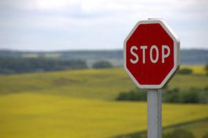 Stop windshield damage spread